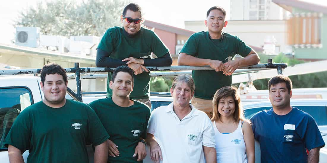 Windward Window Cleaners Crew